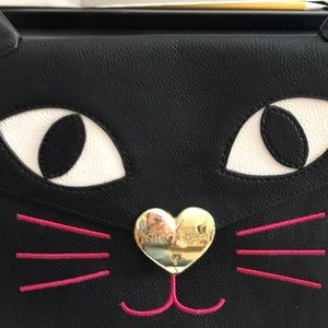 👜BETSY JOHNSON Cat Clutch